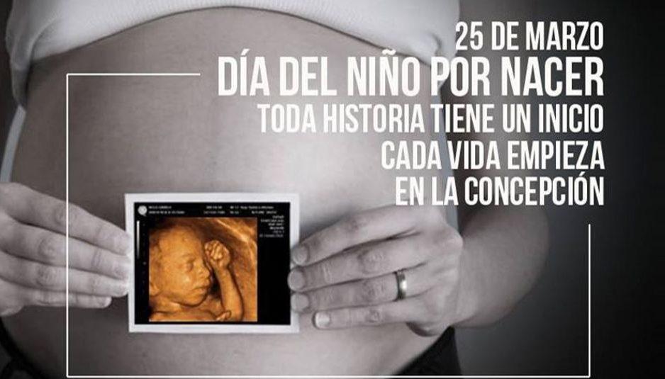 dia del niño por nacer
